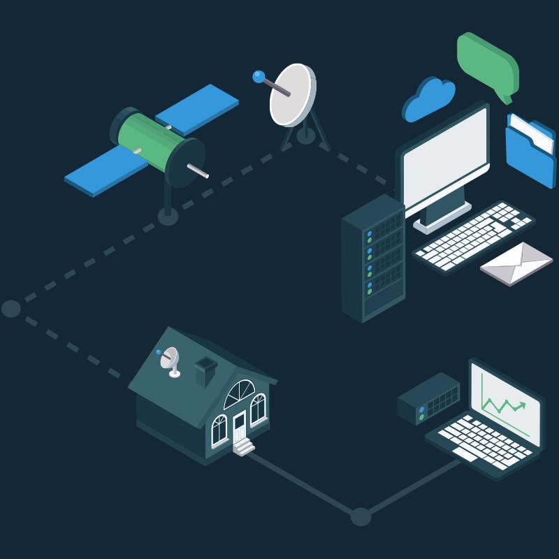 How Satellite Internet For Home Works Freedomsat